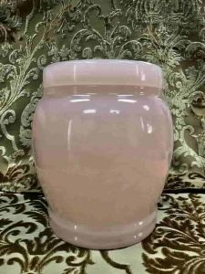 Pink Funeral Singapore Marble Urns